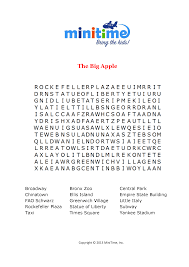 northeast us word searches and crossword puzzles free printable