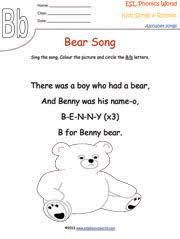 esl phonics world alphabet songs and rhymes kindergarten