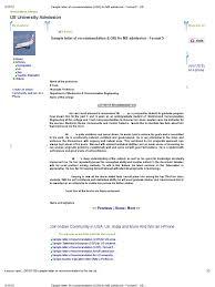 doc 590702 college recommendation letter u2013 sample college