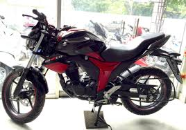 suzuki motorcycle black suzuki gixxer with dual tone colours in images
