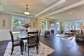 Dark Dining Room Open Concept Wainscoting Google Search Dream Living Room