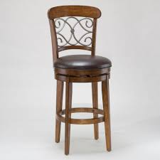 wooden bar stools with backs that swivel dining room wooden swivel bar stool with blue velvet upholstered