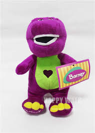 barney friends plush toy barney dinosaur doll 30cm small