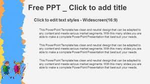 children students little boy and kids powerpoint templates