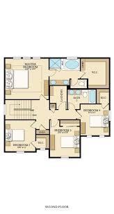 Monarch Homes Floor Plans Evergreen New Home Plan In Amber Creek By Lennar
