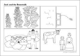 ideas jack beanstalk worksheets free
