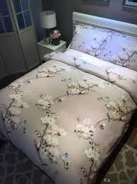 King Size Duvet Bedding Sets Bird Print Bedding Set Sheets Duvet Cover Bed Linen Floral