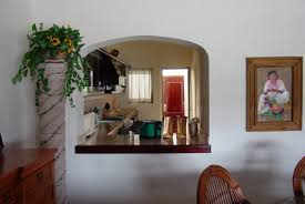 kitchen and dining furniture pass through doorway no door between kitchen and dining room