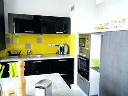cuisine noir et jaune cuisine jaune et cuisine jaune et noir cuisine blanche