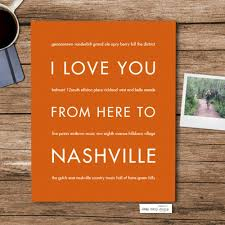 East Nashville Home Design by Nashville City Home Decor Gift Idea Hopskipjumppaper