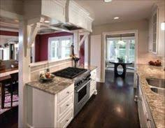 Kitchen Small Galley Kitchen Makeover With Brick by Buckhead Kitchen Remodel Galley Kitchens Kitchens And Walls