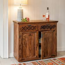Solid Wood Furnitures Bangalore Wooden Sideboard Is Crafted In Solid Sheesham Wood Furniture Online