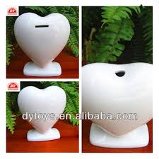 heart shaped piggy bank custom make plastic blank heart shaped piggy bank buy heart