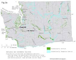 Map Of Washington Coast by Wetland Resources Of Washington State
