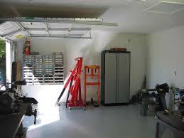 single car garage interior xkhninfo a single car garage interior one car garage thatus fit for two storage ideas intended decorating