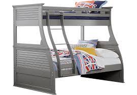belmar gray 4 pc twin full bunk bed bunk loft beds colors