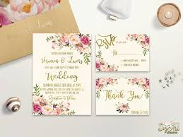 floral wedding invitations floral wedding invitations with