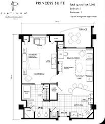 in suite plans las vegas hotel suites platinum hotel spa