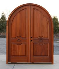 double front doors for homes arched mahogany exterior double