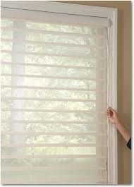 accessories white hunter douglas silhouette window shadings with