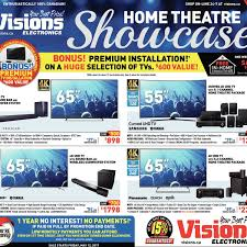 visions electronics weekly flyer weekly home theatre showcase
