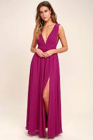 dress pictures magenta gown maxi dress sleeveless maxi dress 84 00