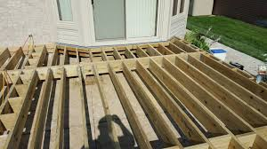 outdoor living how to build a low to the ground deck