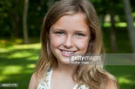 10 year old portrait of 10 year old girl stock photo getty images