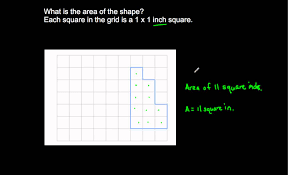 3 md 6 measure area by counting unit squares youtube