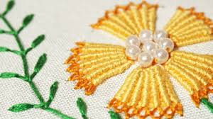 design embroidery hand stitches embroidery design by hand handiworks 75 youtube