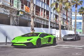 Lamborghini Aventador Grey - multiple lamborghini aventador svs in barcelona gtspirit
