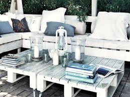 canapé en bois de palette salon salon de jardin en palette canape palette bois