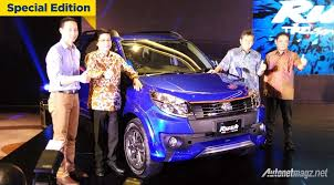 lexus 7 seater indonesia 2016 toyota rush facelift launched in indonesia
