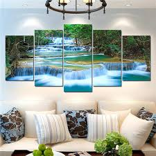 canvas decorations for home landscape wall art decor canvas painting natural landscape wall art