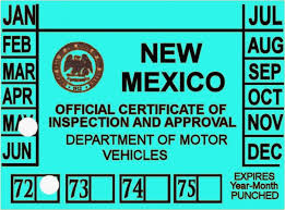 brake and light certificate new mexico brake light stickers