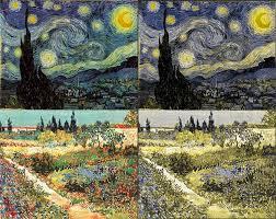 Deuteranopia Color Blindness Was Van Gogh Colorblind U2013 Webvision