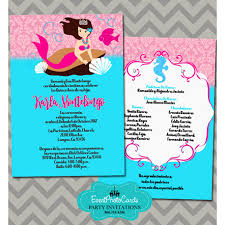 theme invitations theme quinceanera invitations pink turquoise 15th