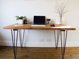 industrial hairpin leg desk hairpin leg desk scaffold boards scaffolding and industrial style