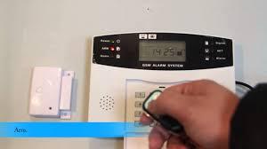 wireless security autodial burglar alarm system youtube