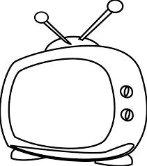 Simpletv Simple Tv Clipart Clip Art Of Tv Clipart 1996 U2014 Clipartwork