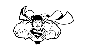 suggestions images superman cartoon drawing flying