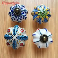 painted ceramic cabinet knobs 2pcs ceramic kids cabinet knobs cupboard handles furniture drawer