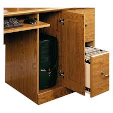 Orchard Hills Computer Desk With Hutch by Amazon Com Sauder 401354 Carolina Oak Finish Orchard Hills