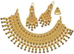 gold set for marriage gold wedding jewelry sets 7 weddings