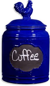 cobalt blue kitchen canisters kitchen canisters teal ceramic canisters home goods canister