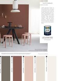jotun lady fargekart 2017 nye lady and home