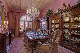 Victorian Design Style 15 Majestic Victorian Dining Rooms That Radiate Color And Opulence