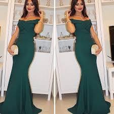 dark green prom dress off the shoulder prom dress mermaid 2017