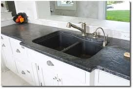 Soapstone Kitchen Sinks Brilliant Soapstone Countertops Seen On Lavant Kitchen Furniture