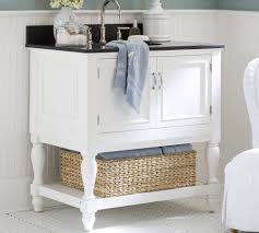 under counter bathroom storage ideas white pink colors wooden